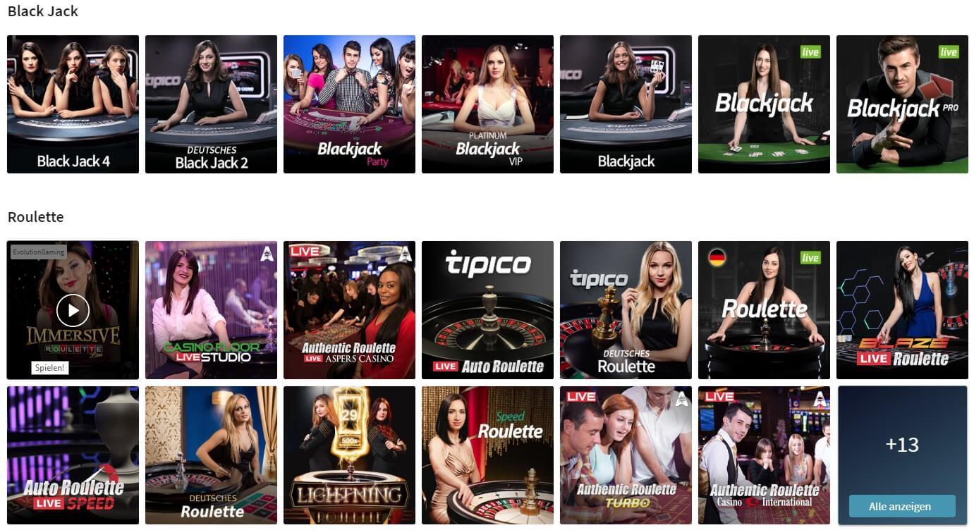 Tipico Live Casino Deutschland